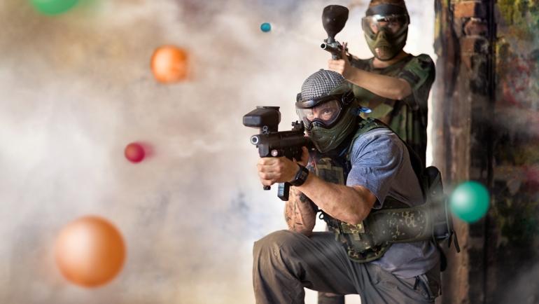 team building bile de paintball