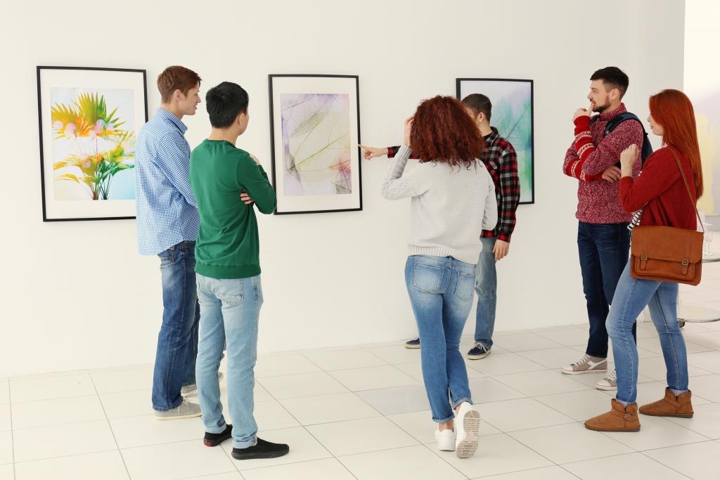 galerie arta team building