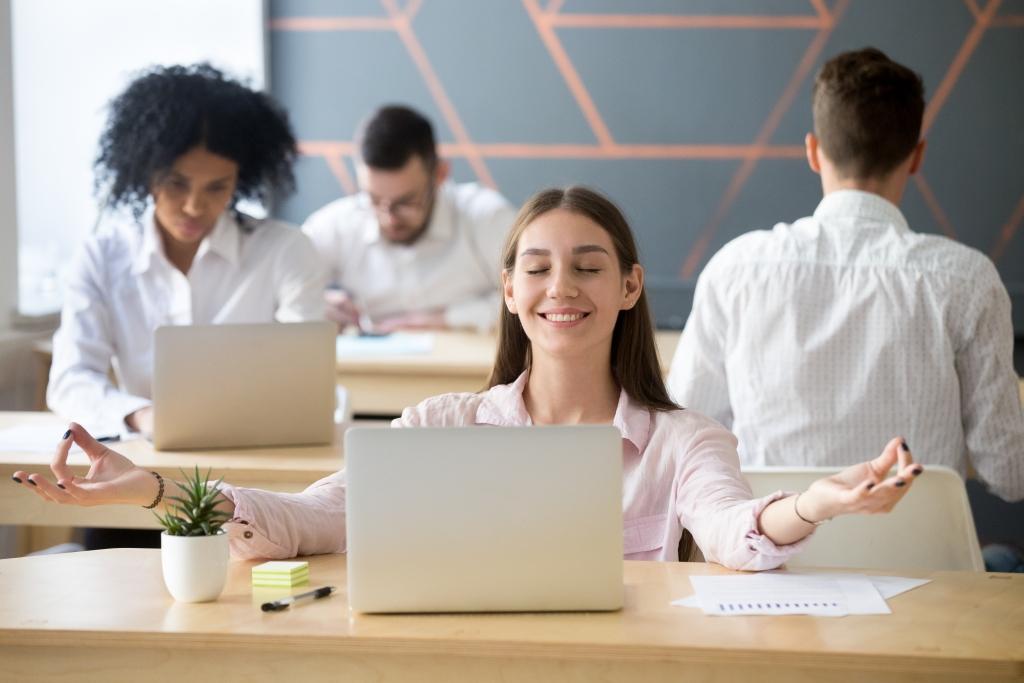 angajat echilibrat mental