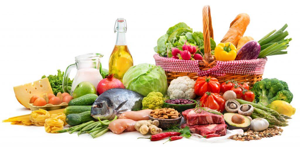 cos cu alimente sanatoase