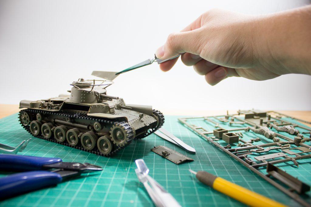 constructie machea tanc