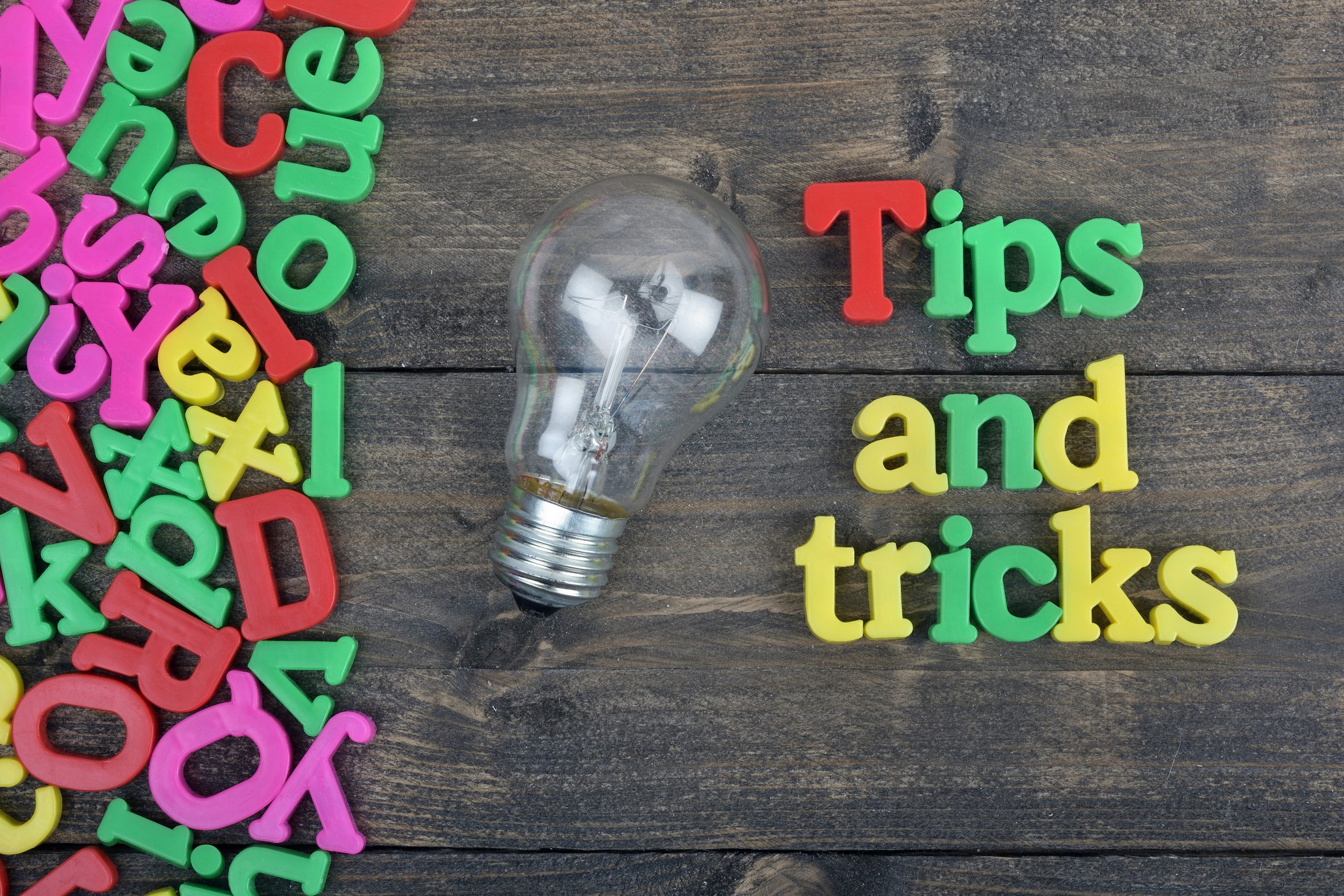 Tips and tricks calitatea vietii