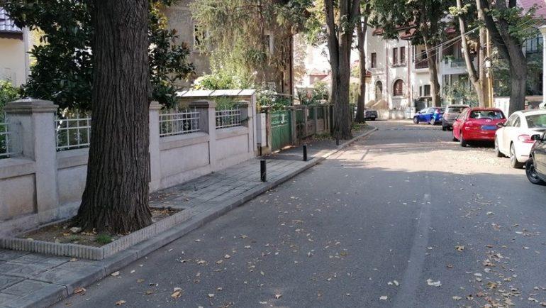 stradă cu case vechi