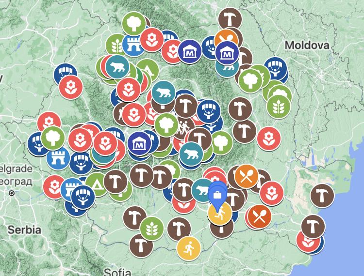 Harta wellbeingului in Romania